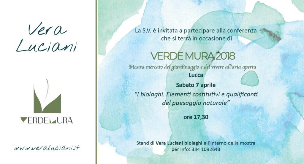 invito Verdemura 2018