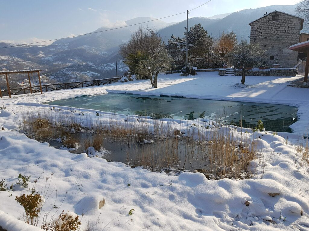Biolago Agriturismo Il Tavernone (Bn) in Inverno