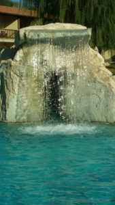 Particolare cascata Adler Bagno Vignoni (SI)
