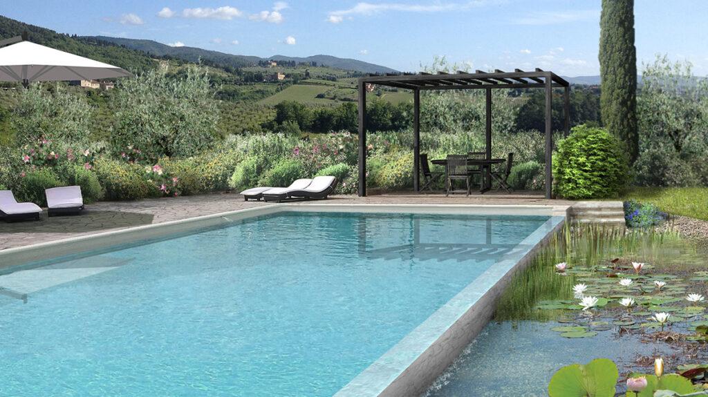 Progetto Biolago Casa privata Rocca Tederighi (Gr)