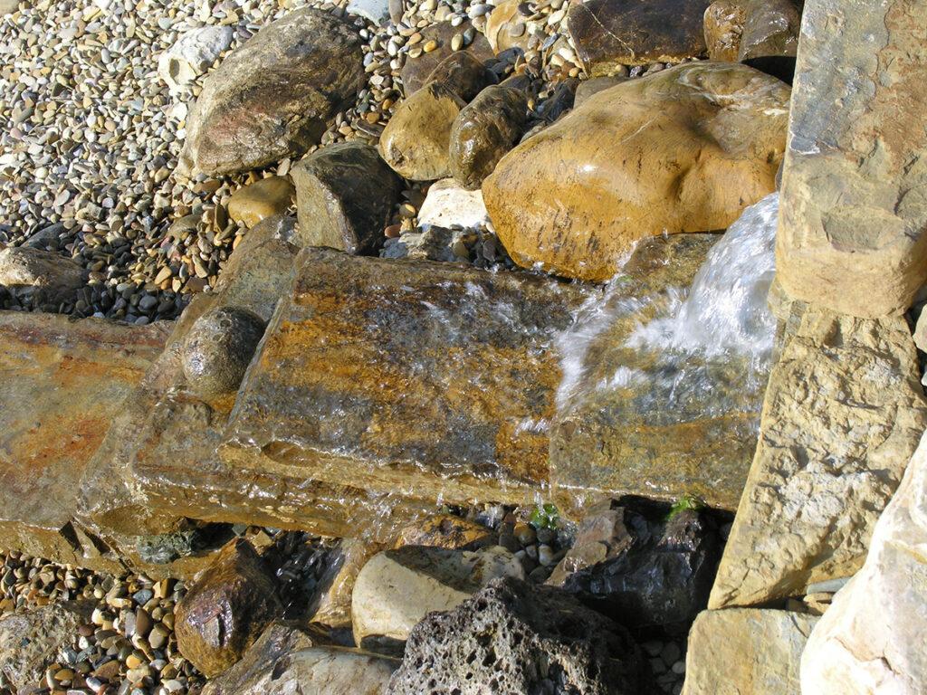 Particolare cascata Reggello (FI)