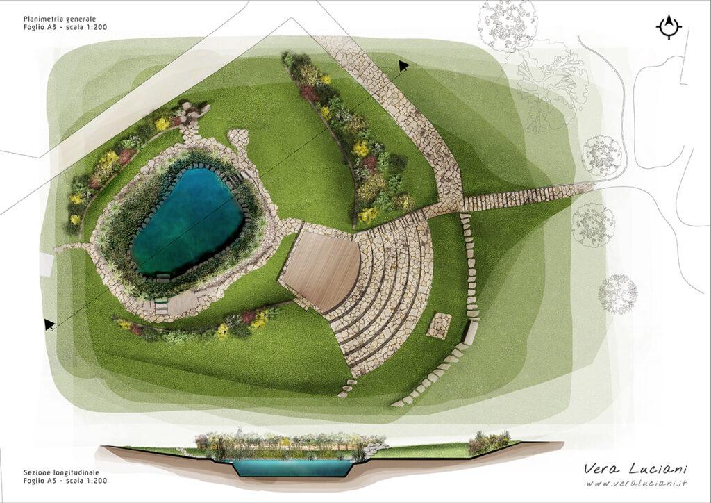 biolago, piscina naturale - sasseta